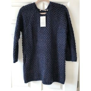 Soft Surroundings - Navy/Copper Sweater.